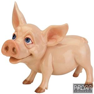 Little Paws Grunter Pig Figurine