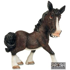 Little Paws Mary the Shire Horse Figurine