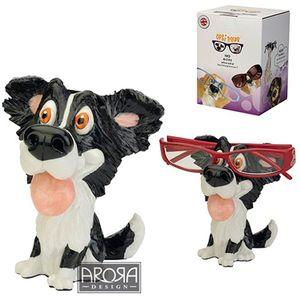 Optipaws Border Collie Dog Glasses Holder Ornament