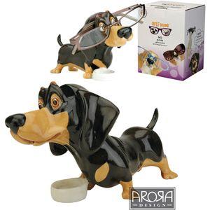 Optipaws Dachshund Dog Glasses Holder Ornament