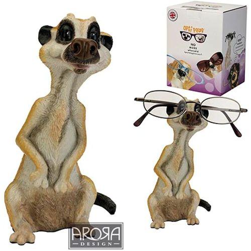Meerkat Cat Ornament Glasses Holder by Arora Design