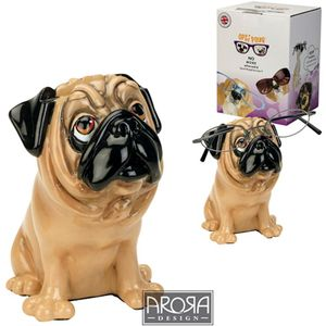 Optipaws Tan Pug Dog Glasses Holder