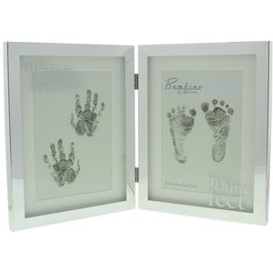 Bambino Silver-plate Photo Frame My Tiny Hands/Feet