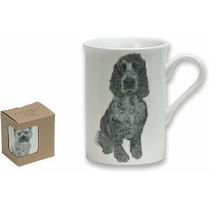 Heath McCabe Cocker Spaniel Fine China Mug