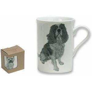 Cavalier King Charles Spaniel Fine China Mug