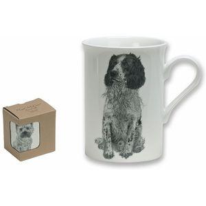 Heath McCabe Springer Spaniel Fine China Mug