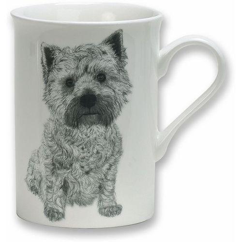 Heath McCabe Gift Boxed Fine China Mug - West Highland Terrier Dog