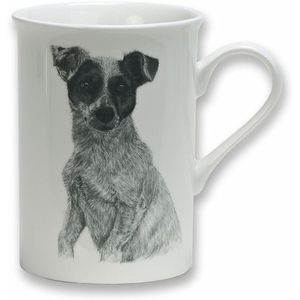 Heath McCabe Gift Boxed Fine China Mug - Jack Russell Dog