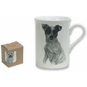 Heath McCabe Jack Russel Fine China Mug