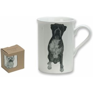Heath McCabe Boxer Dog Fine China Mug