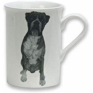 Heath McCabe Gift Boxed Fine China Mug - Boxer Dog