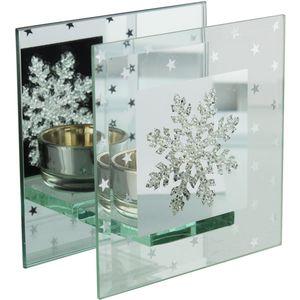 Snowflake design single T-Lite Holder