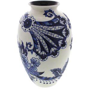 "Old Tupton Ware Blue Sapphire Vase 8"""