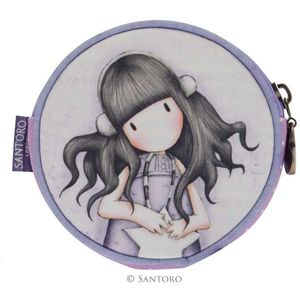 Santoro Gorjuss Round Purse - All These Words