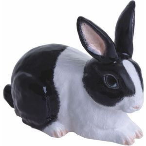 John Beswick Rabbit (Black & White) Adorables Figurine