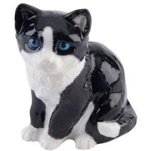 John Beswick Kitten (Black & White) Adorables Figurine