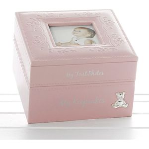 Baby Girl Keepsake & Photo Box
