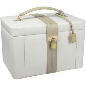 Dulwich Designs Xlarge Cream & Mink Jewellery Box