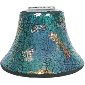 Aroma Jar Candle Lamp Shade: Turquoise Lustre