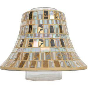 Aroma Jar Candle Lamp Shade: Gold Leaf Lustre