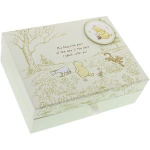 Disney Heritage Keepsake Box with Drawers - Winnie the Pooh
