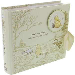 "Disney Classic Pooh Heritage Photo Album 4x6"" - My First Photos"
