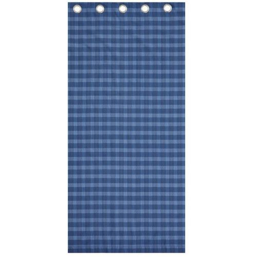 "Catherine Lansfield Casual Living Curtains 66"" x 72"" - Blue"