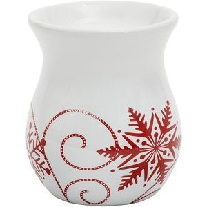 Yankee Candle Wax Melt Burner - Snowflake Ceramic