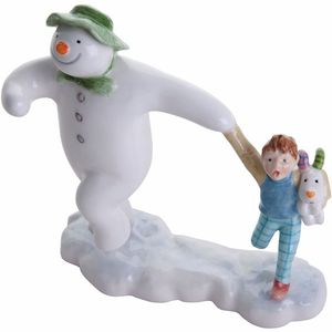 John Beswick The Snowman: Snowman Taking Off
