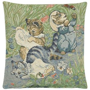 Hines of Oxford Beatrix Potter Tom Kitten Tapestry Cushion Cover 33cm x 33cm