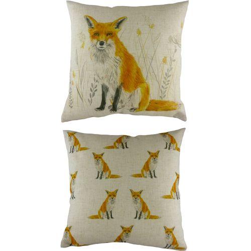 Evans Lichfield Rural Collection Cushion: Fox 43cm x 43cm