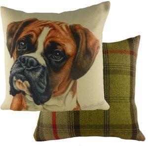 Evans Lichfield Waggydogz Cushion: Boxer 43cm x 43cm