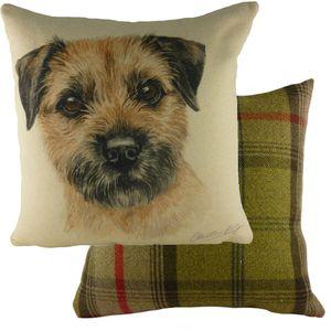 Evans Lichfield Waggydogz Cushion Cover: Border Terrier