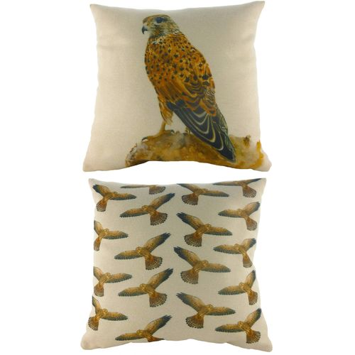Evans Lichfield Majestic Beasts Collection Cushion: Kestrel 43cm x 43cm