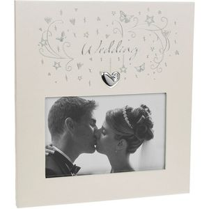 "Star Cluster Photo Frame 6"" x 4"" - Wedding"