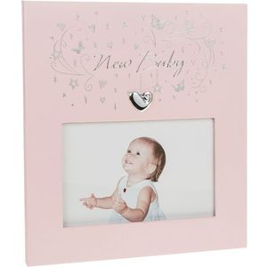"Star Cluster New Baby Frame 5.5""x3.5"" Girl"