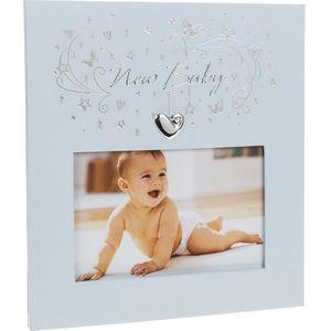 "Star Cluster Photo Frame 5.5"" x 3.5"" - New Baby Boy"