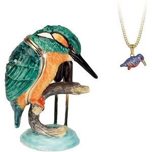 Hidden Treasures Secrets Kingfisher Trinket Box