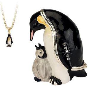 Hidden Treasures Secrets Penguin Trinket Box