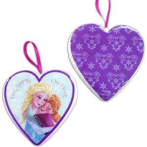 Disney Frozen Hanging Ornaments - Anna & Elsa Heart Pack of 2