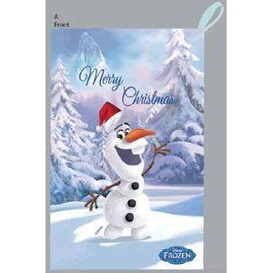 70x45cm Frozen Santa Sack - Olaf design