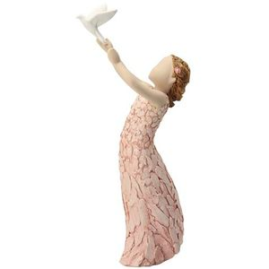 More Than Words Follow Your Dreams Figurine (Pink)