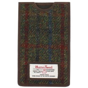 Harris Tweed Phone Case: Breanais Green