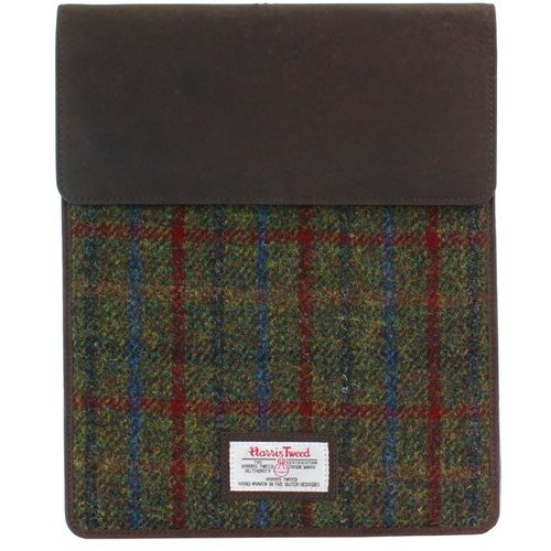 Harris Tweed Tablet Sleeve Case: Breanais Green