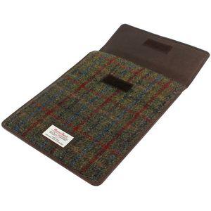 Harris Tweed Mini Tablet Sleeve Case: Breanais Green