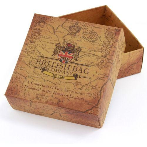 Harris TweedTrinket Box: Breanais Green