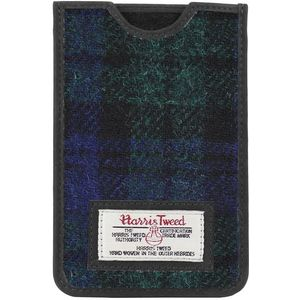 Harris Tweed Phone Case: Bragar Black Watch Tartan