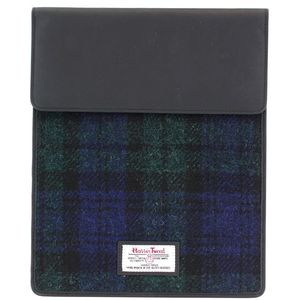 Harris Tweed Tablet Case: Bragar Black Watch Tartan