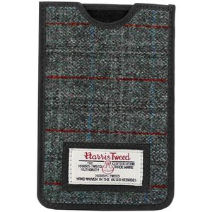 Harris Tweed Phone Case: Berneray Grey