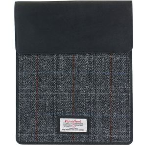 Harris Tweed Tablet Case: Berneray Grey